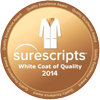Surescripts White Coat of Quality Seal