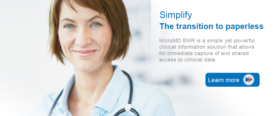 MicroMD EMR - Simplify the path to paperless