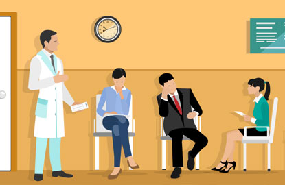 patient engagement in the waiting room at a clinic