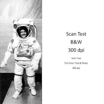 Scan Test B&W 300dpi